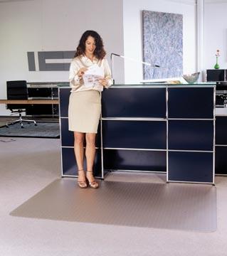 Floortex vloermat Cleartex Advantagemat, voor tapijt, rechthoekig, ft 120 x 150 cm