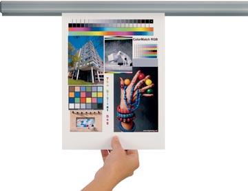Jalema presentatiesysteem Grip, lengte: 120 cm, inclusief magneetbevestiging