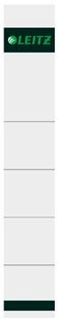 Leitz rugetiket ft 190 x 32 mm grijs, pak van 10 stuks
