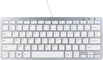 R-Go compact ergonomisch toetsenbord, azerty, Franse versie