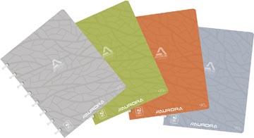 Adoc schrift Design, ft A5, 144 bladzijden, kartonnen kaft, commercieel geruit, geassorteerde kleuren