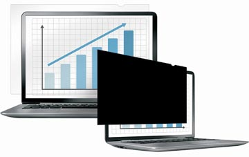 Fellowes privacy filter voor breedbeeldlaptop van 12,5 inch
