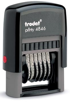 Trodat nummerstempel Printy 4846
