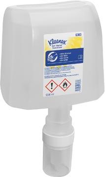 Kimberly-Clark Kleenex vulling dispenser, cassette alcoholgel, helder, 1,2 liter