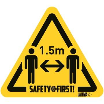 Waarschuwingssticker, houd afstand 2