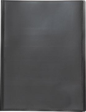 Pergamy personaliseerbare showalbum, voor ft A4, met 20 transparante tassen, zwart