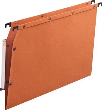 L'oblique hangmappen voor kasten AZV V-bodem, oranje