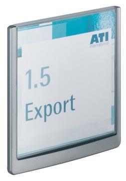 Durable deurnaamhouder Click Sign ft 14,9 x 14,8 cm