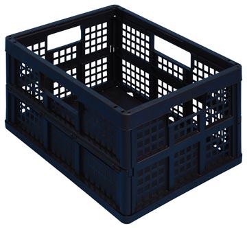 Really Useful Box plooibox 45 liter, zwart